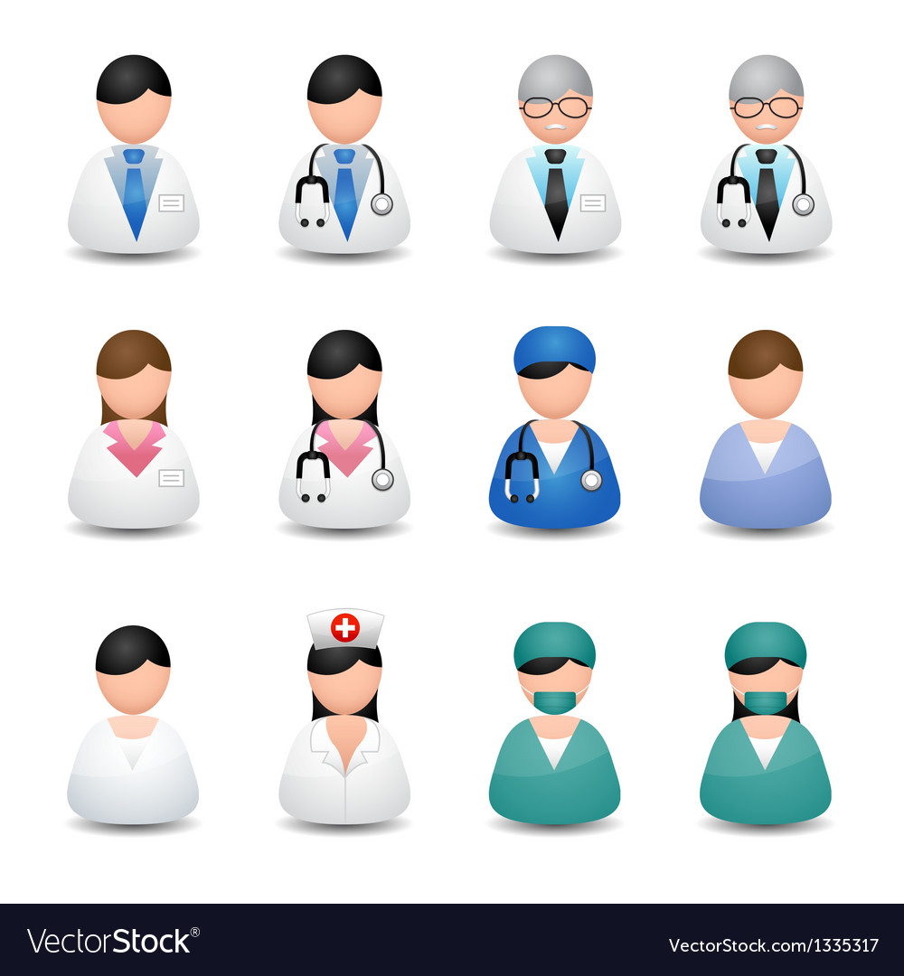 Medical people vector | Price: 3 Credit (USD $3)