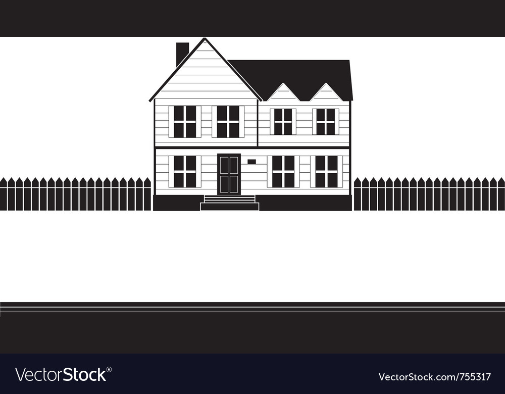 Real estate house banner vector | Price: 1 Credit (USD $1)
