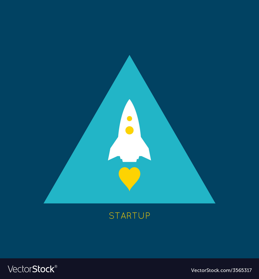 Startup new business project vector | Price: 1 Credit (USD $1)