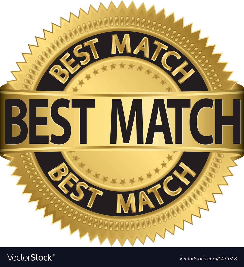 Best match golden label vector | Price: 1 Credit (USD $1)
