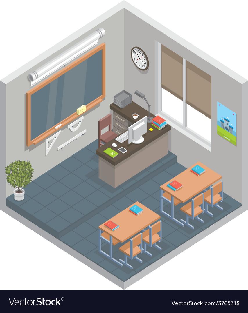 Classroom vector | Price: 1 Credit (USD $1)
