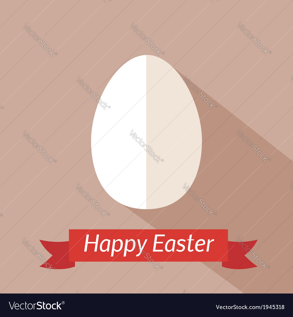Happy easter card template vector | Price: 1 Credit (USD $1)