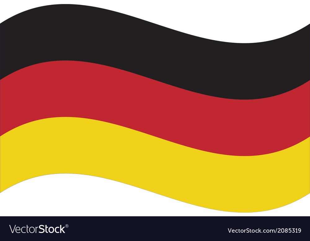 Flag germany vector | Price: 1 Credit (USD $1)