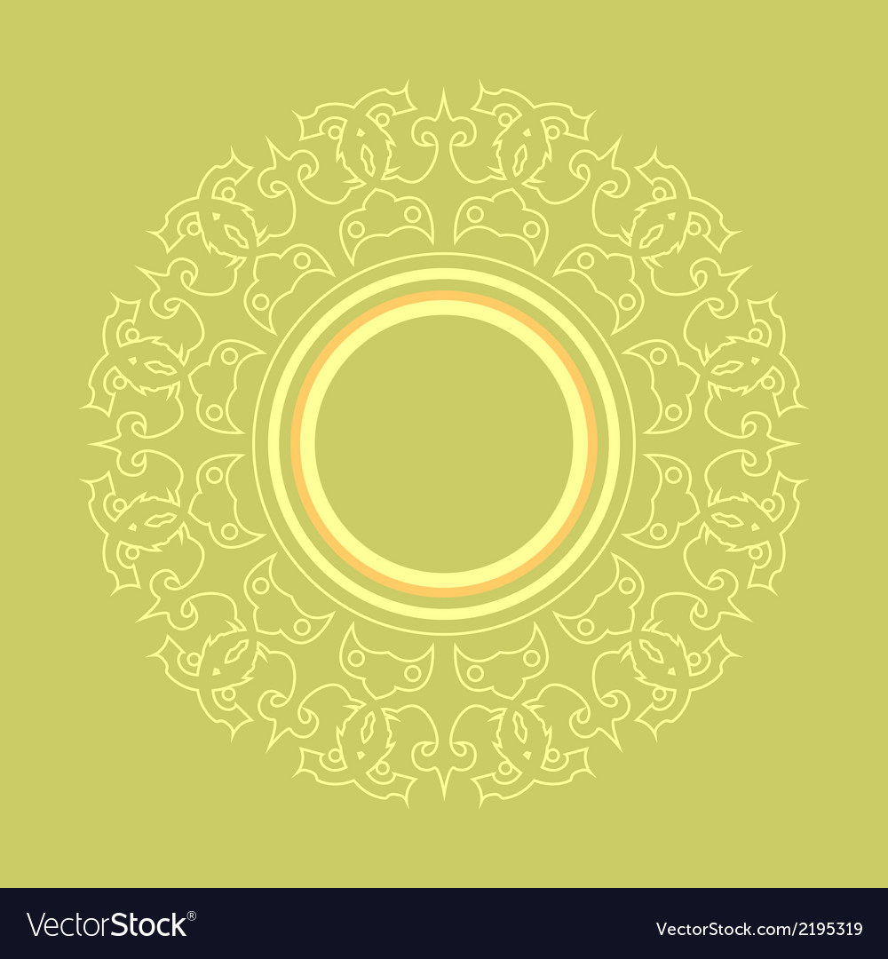 Intricate frame vector | Price: 1 Credit (USD $1)