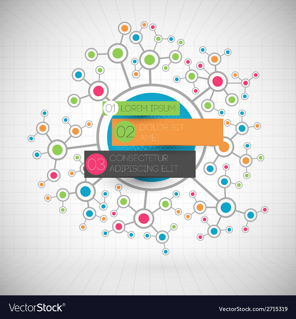 Network color technology communication background vector | Price: 1 Credit (USD $1)