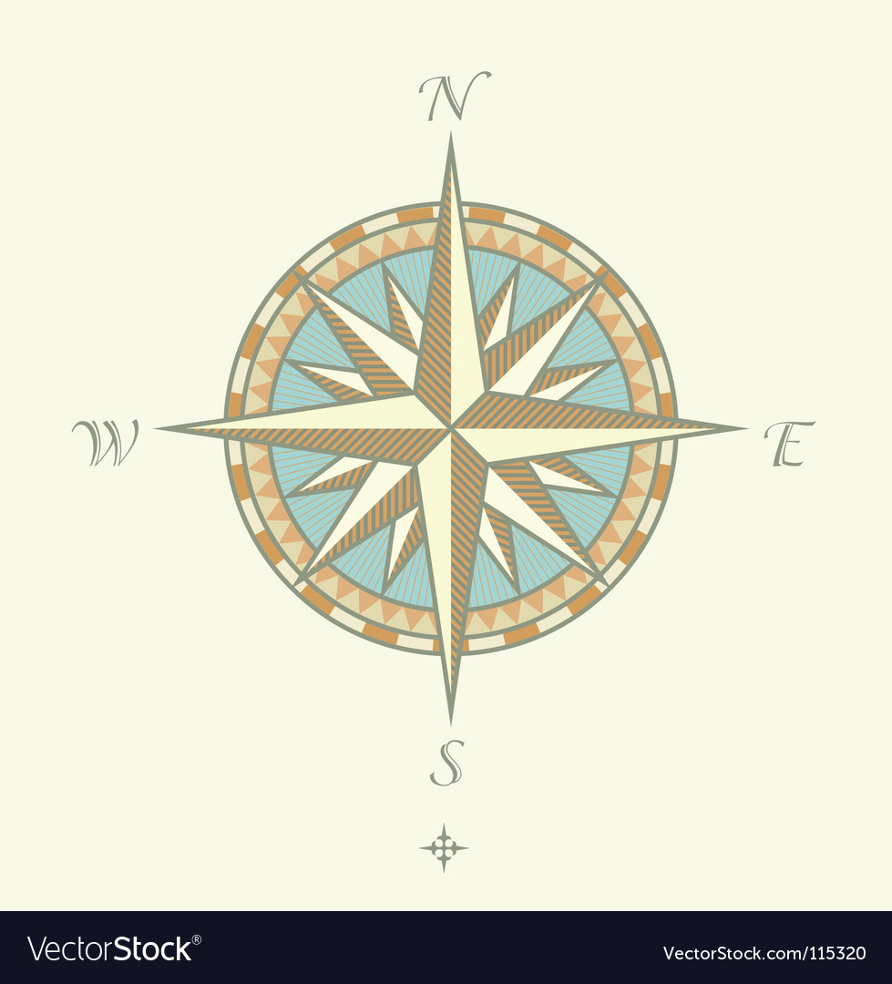 Compass windrows vector | Price: 1 Credit (USD $1)