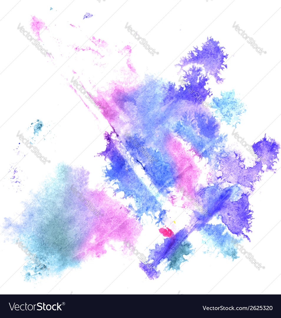 Watercolor splashes vector | Price: 1 Credit (USD $1)