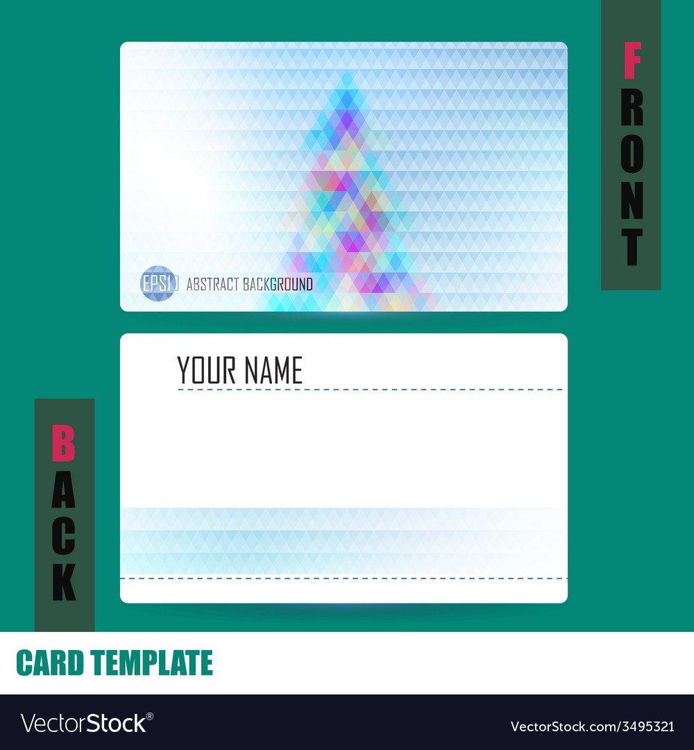 Modern christmas tree background triangle template vector | Price: 1 Credit (USD $1)