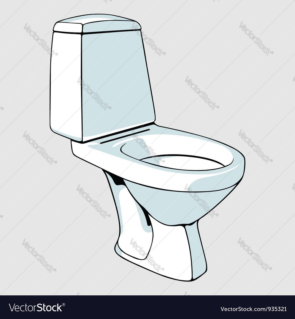Toilet vector | Price: 1 Credit (USD $1)