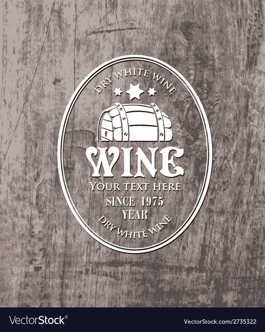 Barrel wine vector | Price: 1 Credit (USD $1)