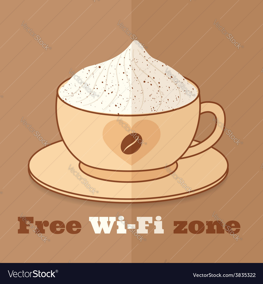Free wifi zone vector | Price: 1 Credit (USD $1)