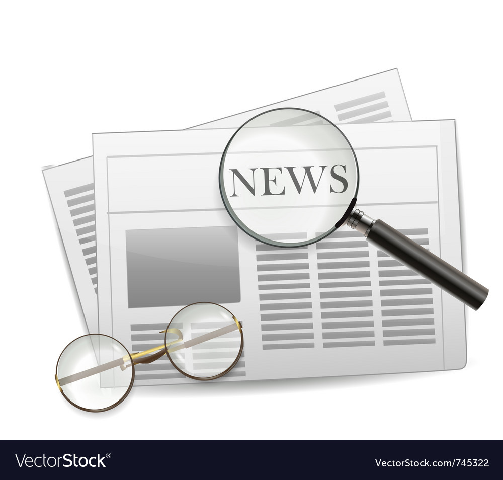 Newspaper vector | Price: 3 Credit (USD $3)