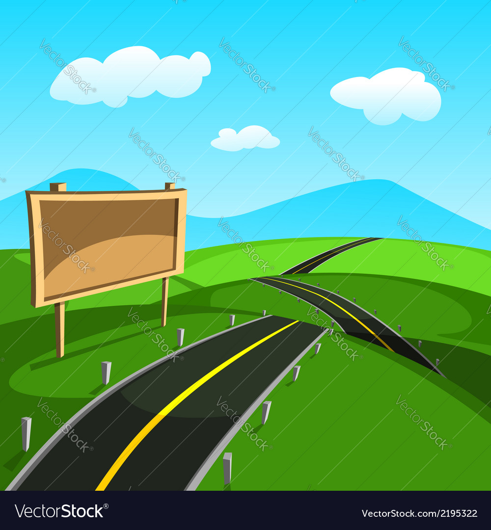 Road vector | Price: 3 Credit (USD $3)