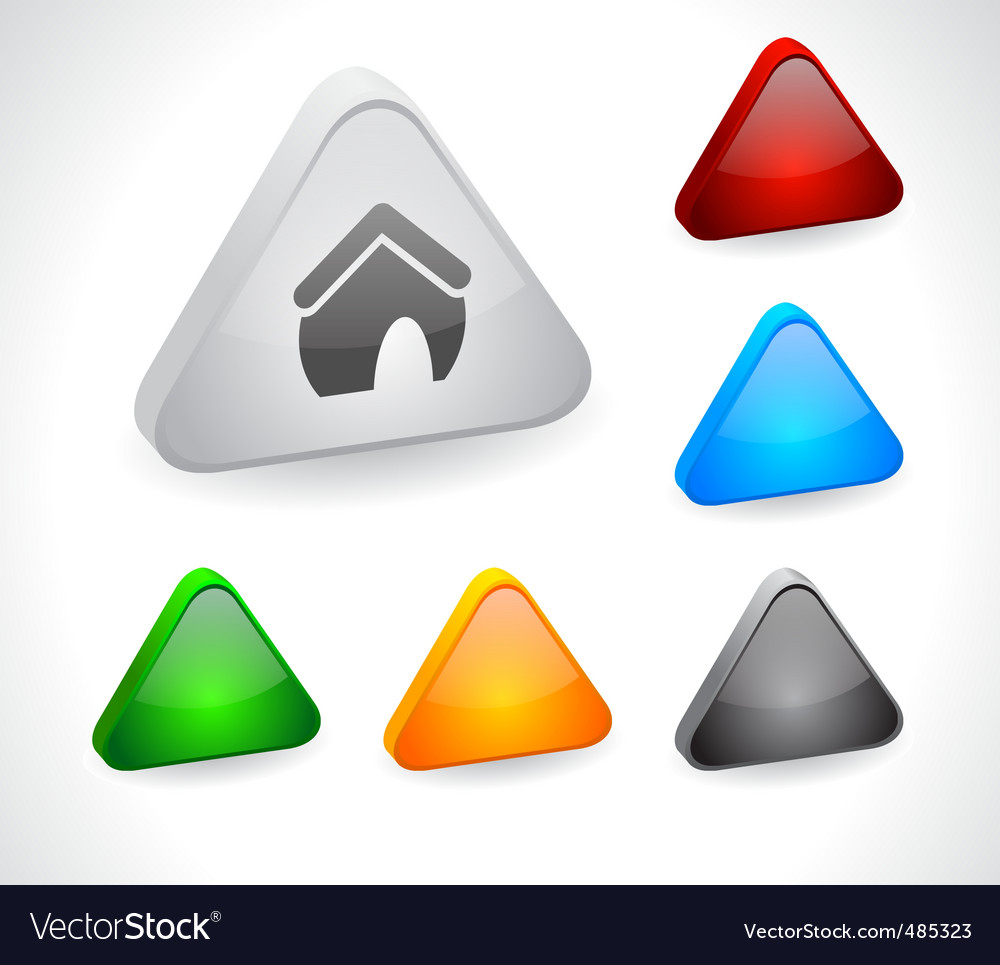 Color 3d buttons for web vector   Price: 1 Credit (USD $1)