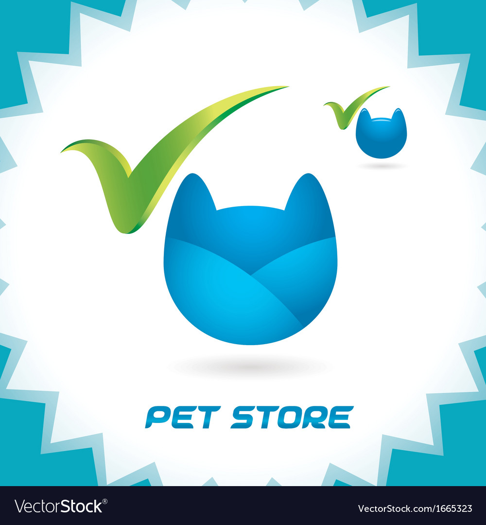 Pet shop icons vector | Price: 1 Credit (USD $1)