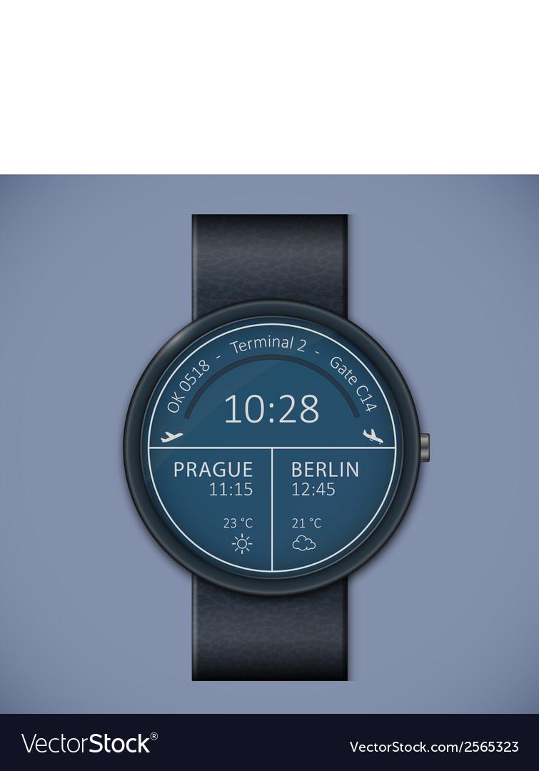 Smartwatch mockup vector   Price: 1 Credit (USD $1)