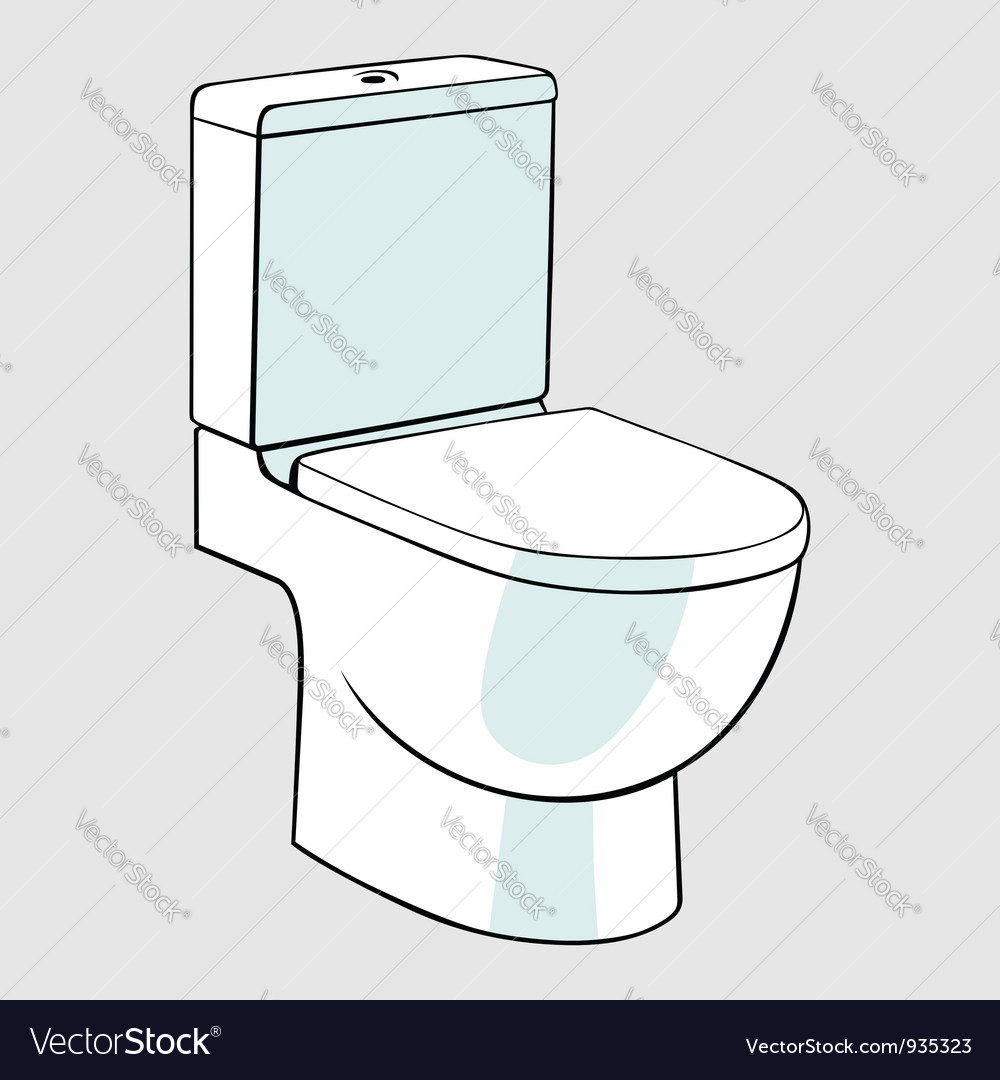 Toilet vector | Price: 1 Credit (USD $1)