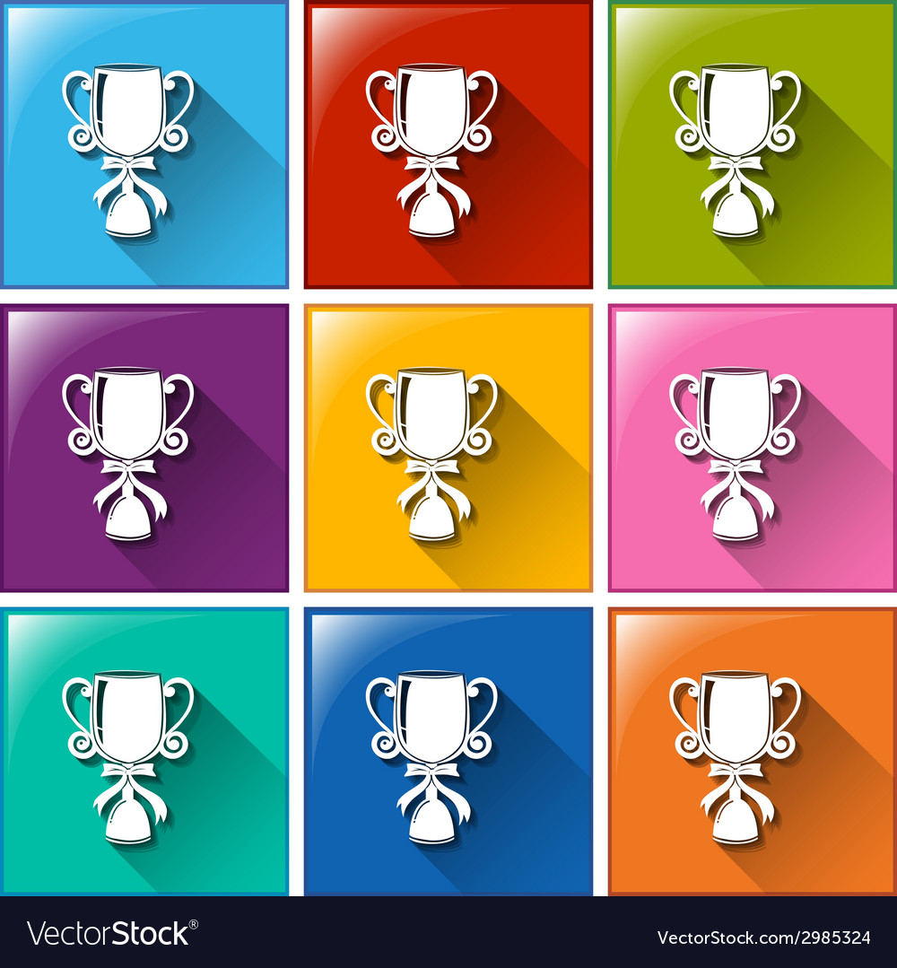 Buttons with trophies vector   Price: 1 Credit (USD $1)
