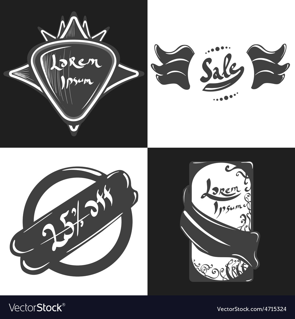 Labels and badges vector   Price: 1 Credit (USD $1)