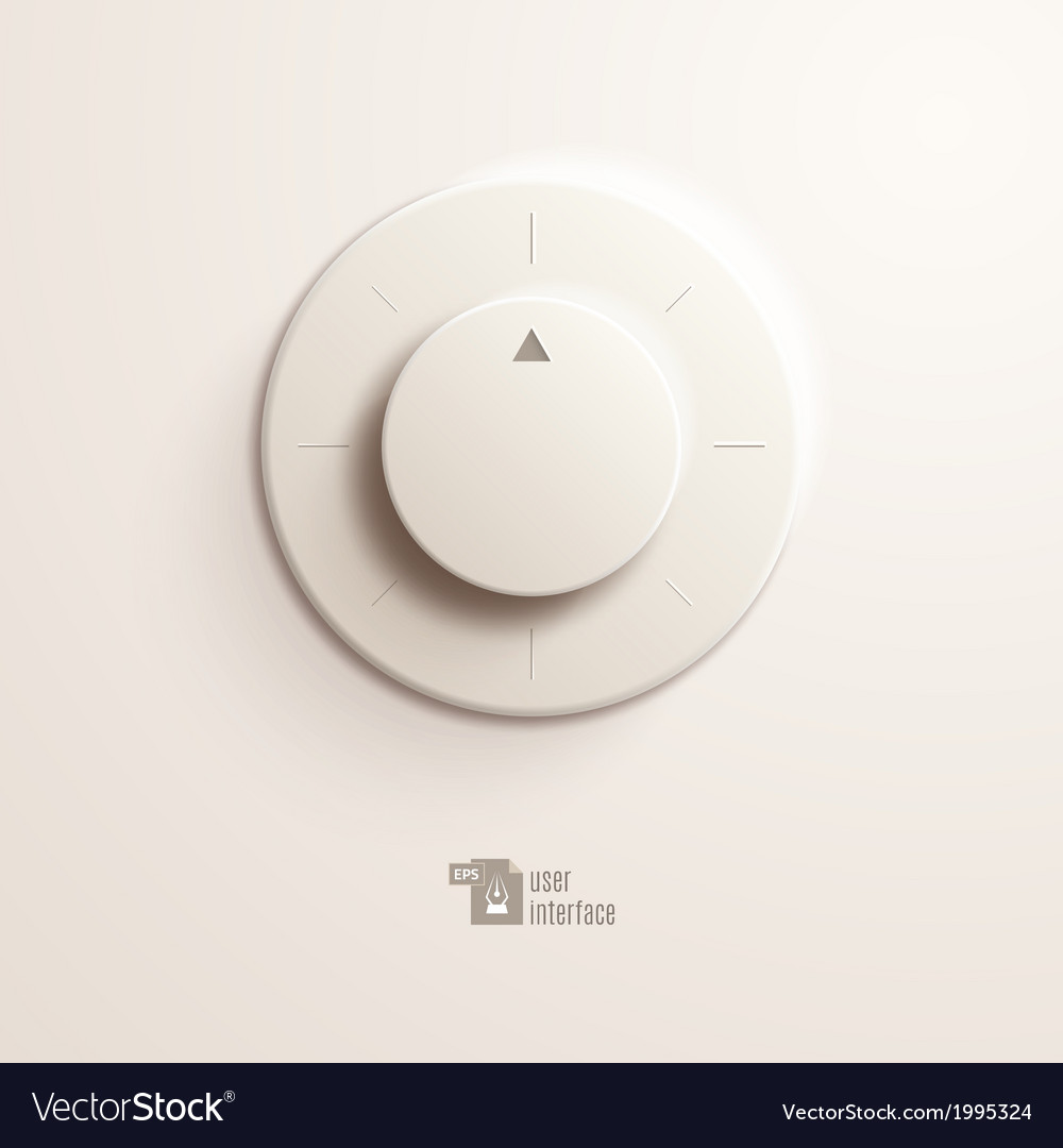 Volume switch eps10 vector | Price: 1 Credit (USD $1)