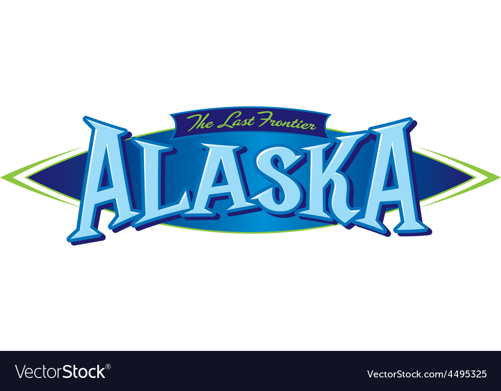 Alaska the last frontier vector | Price: 1 Credit (USD $1)