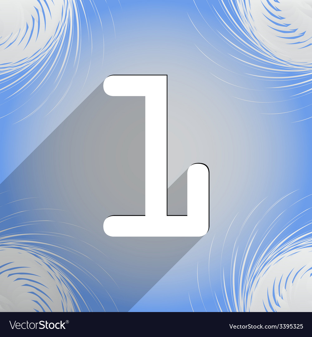 Number one icon symbol flat modern web design with vector | Price: 1 Credit (USD $1)
