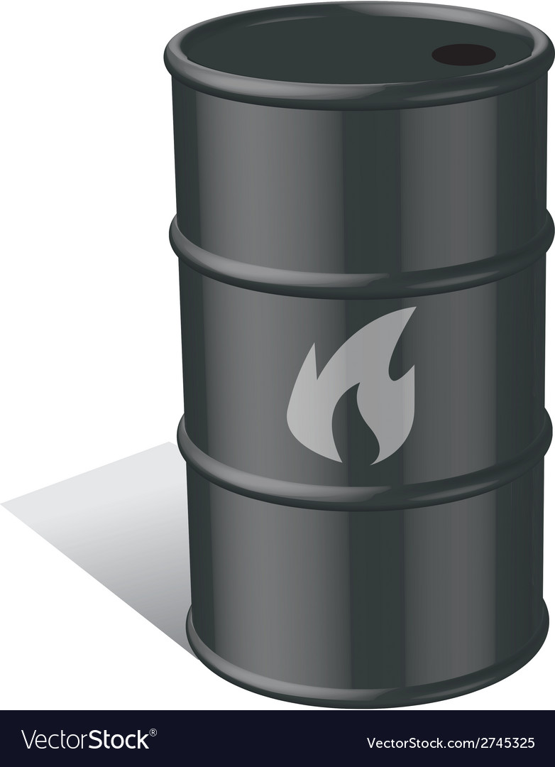 Oil and gas tank vector | Price: 1 Credit (USD $1)