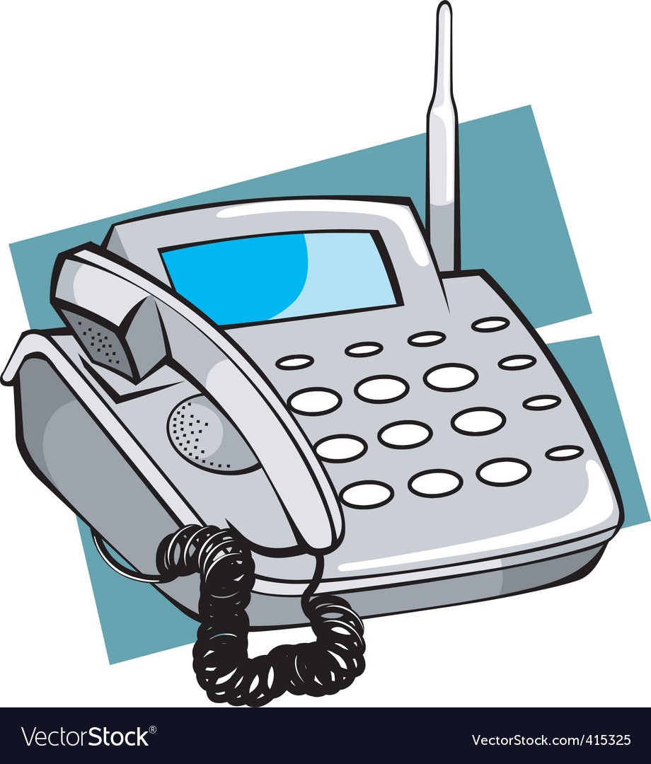 Telephone vector   Price: 1 Credit (USD $1)