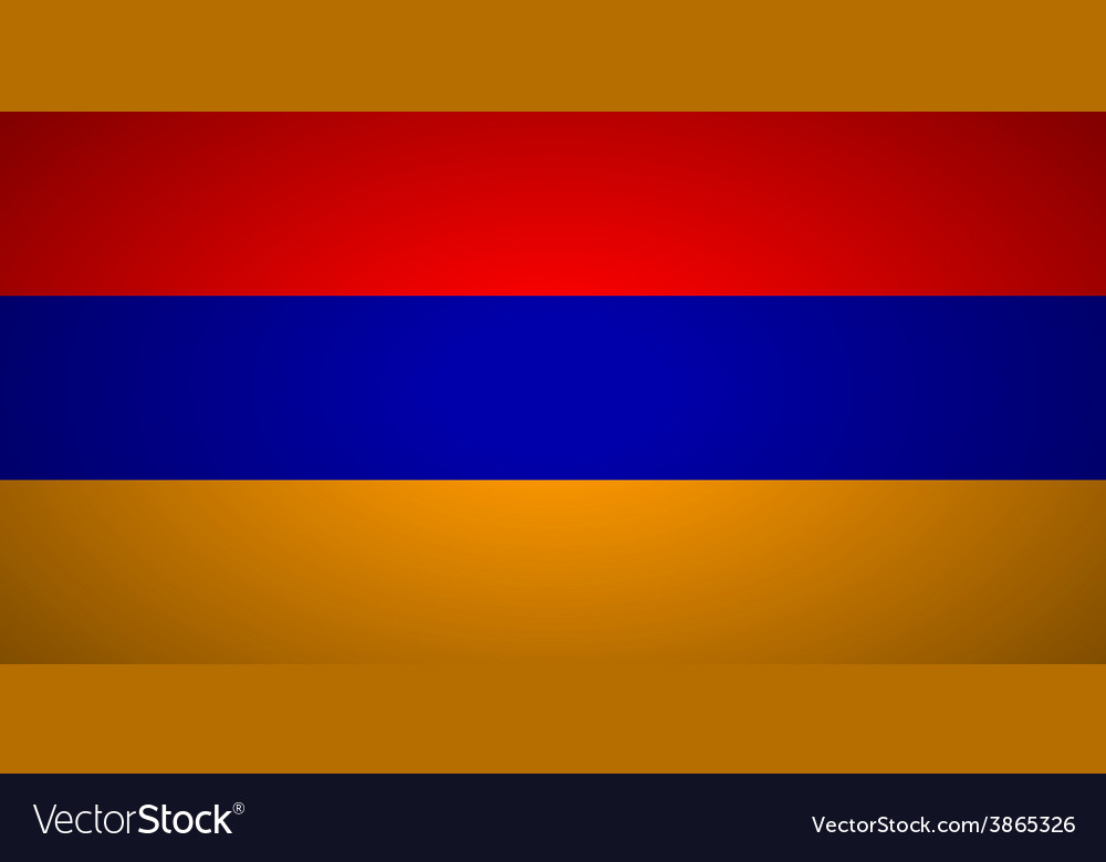 Flag of armenia vector | Price: 1 Credit (USD $1)