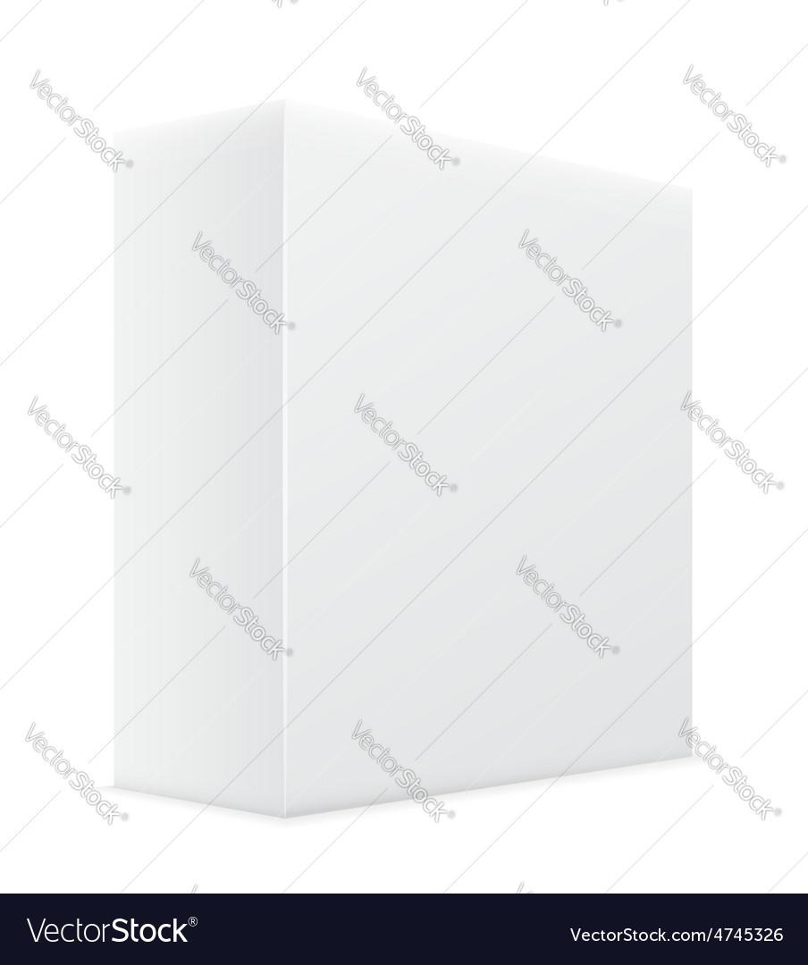 White box 02 vector | Price: 1 Credit (USD $1)