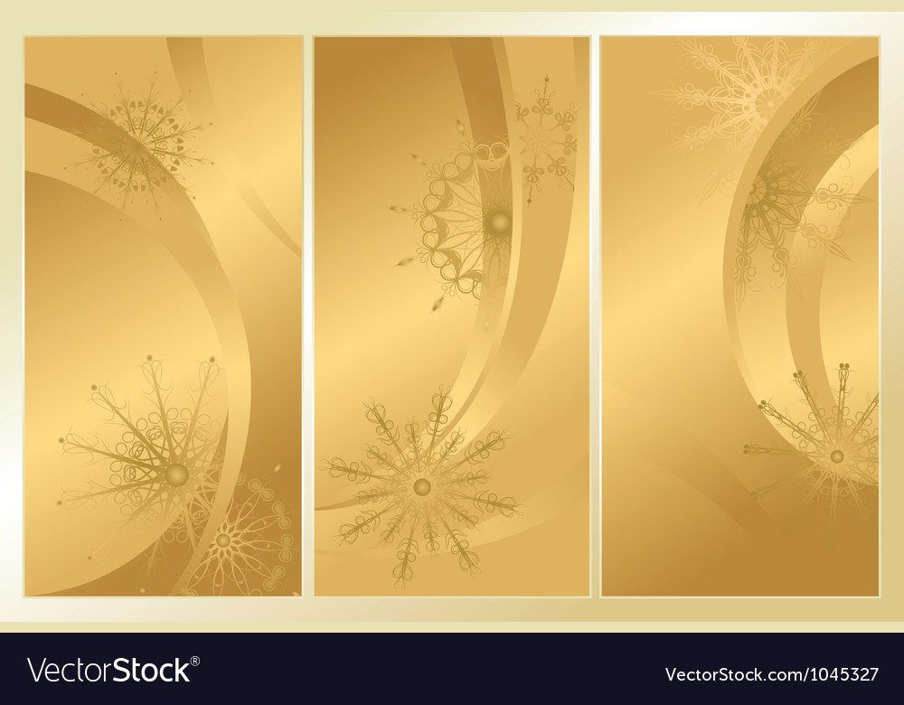 Golden frosty pattern vector | Price: 1 Credit (USD $1)