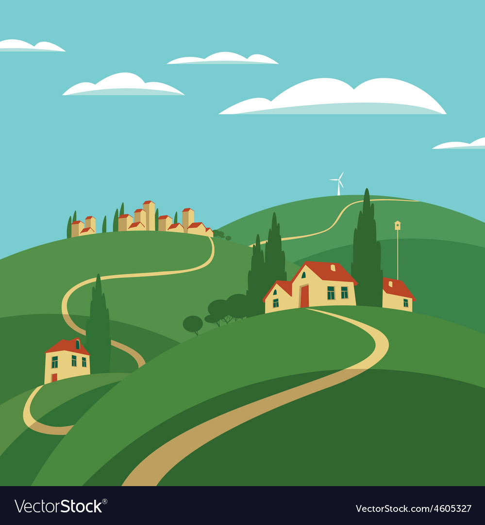 The road to heaven vector | Price: 1 Credit (USD $1)