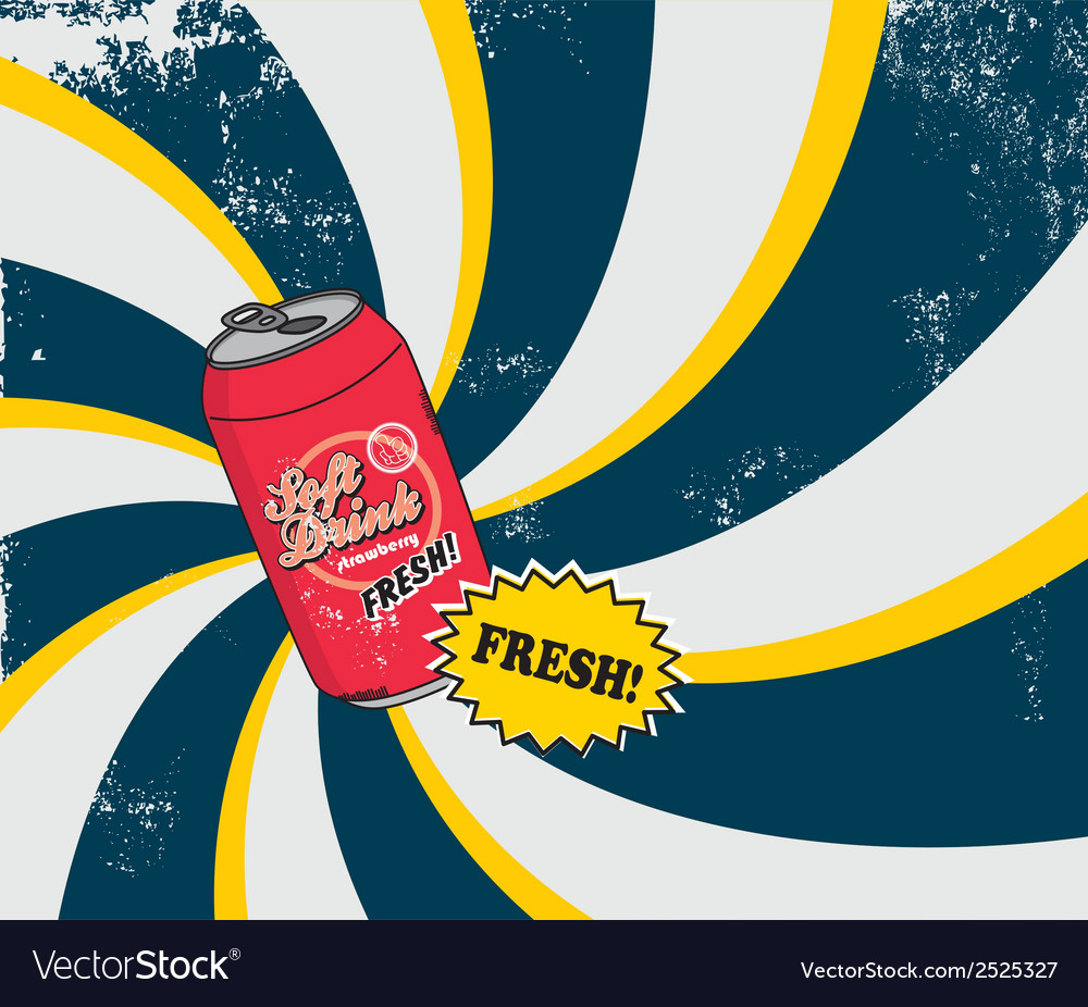 Soft drink vector | Price: 1 Credit (USD $1)