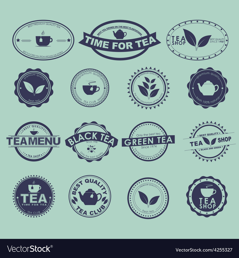 Tea logo vector | Price: 1 Credit (USD $1)