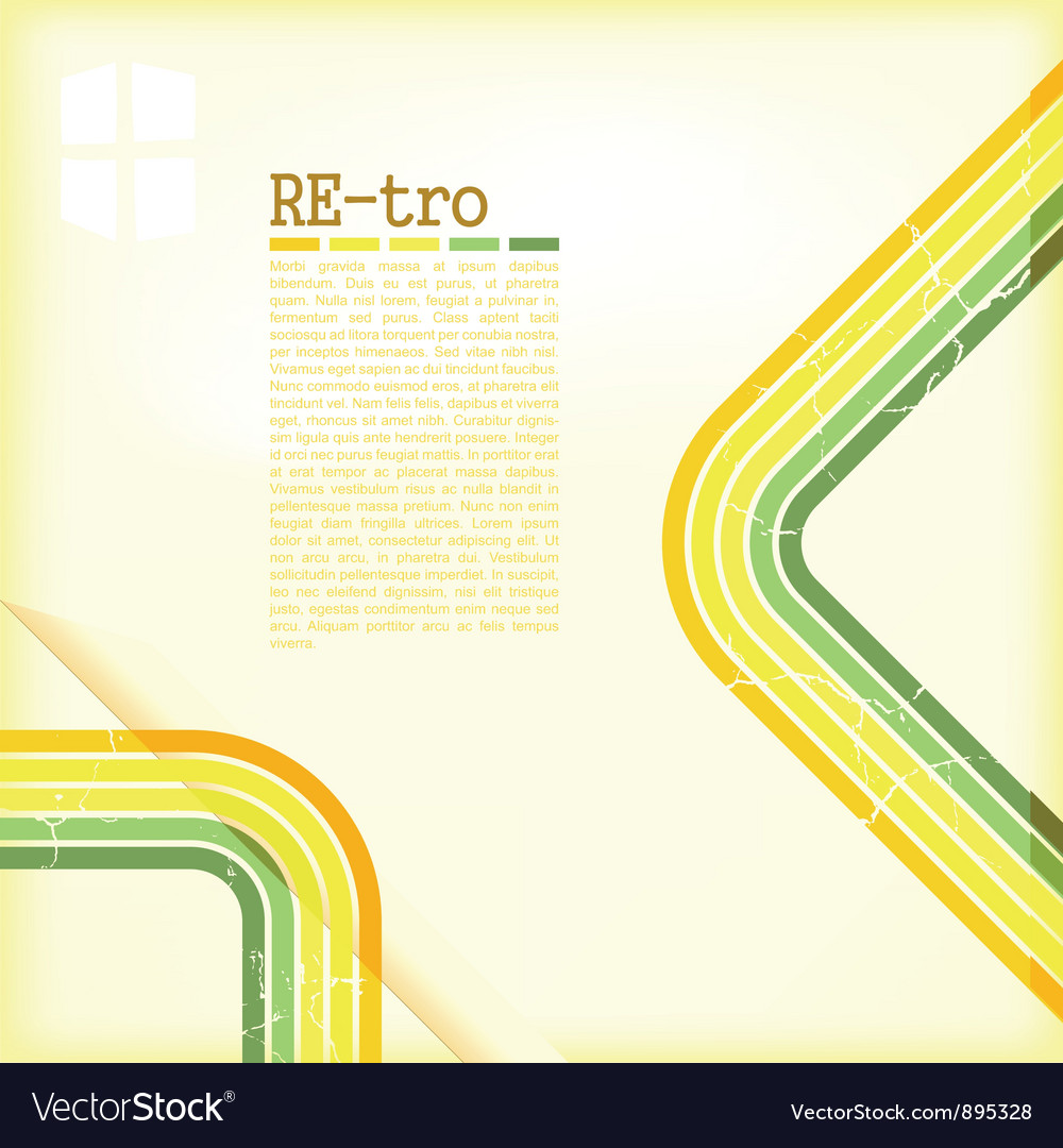 Retro copyspace background vector | Price: 1 Credit (USD $1)