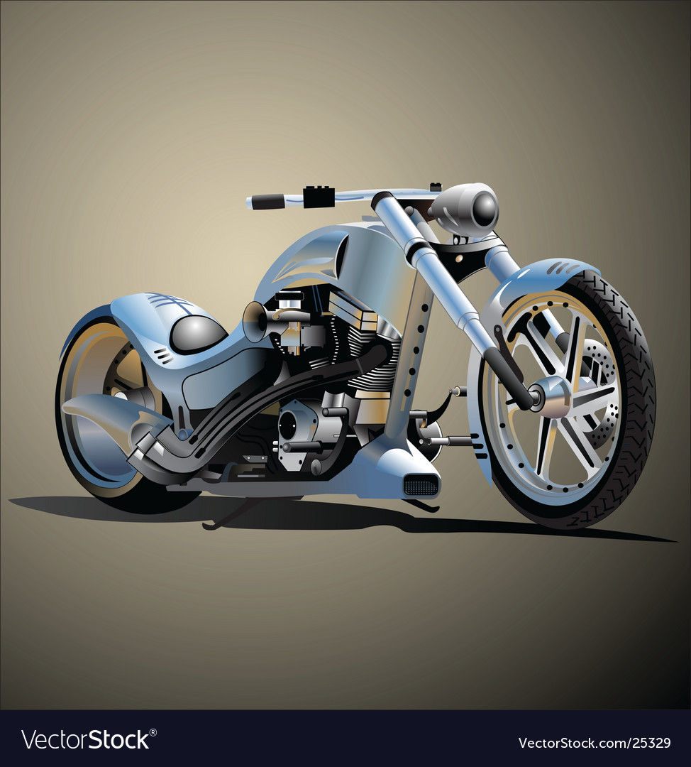 Bike real hand made vector | Price: 3 Credit (USD $3)