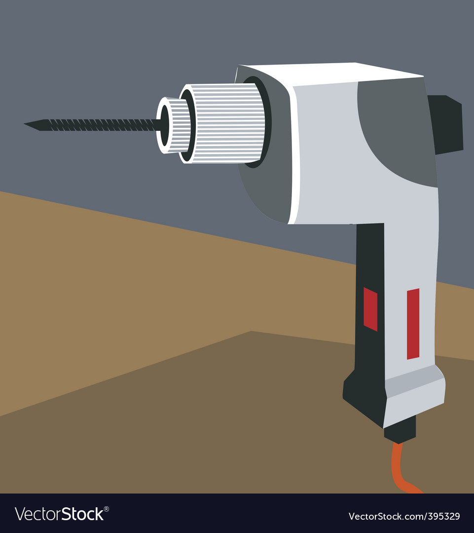 Drilling machine vector | Price: 1 Credit (USD $1)