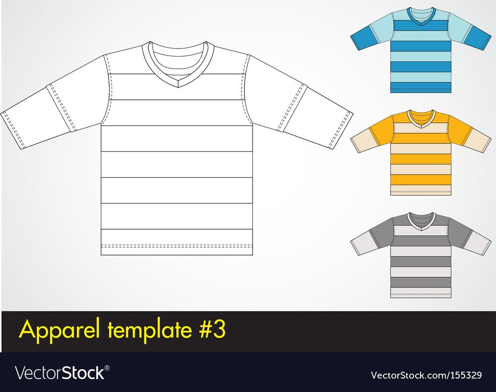 V-neck template vector   Price: 1 Credit (USD $1)