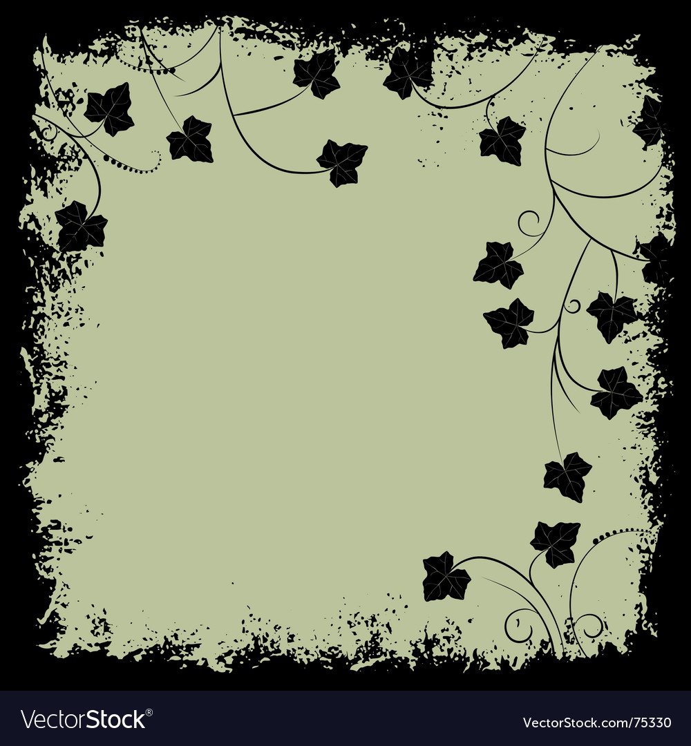 Grunge frame and border vector | Price: 1 Credit (USD $1)