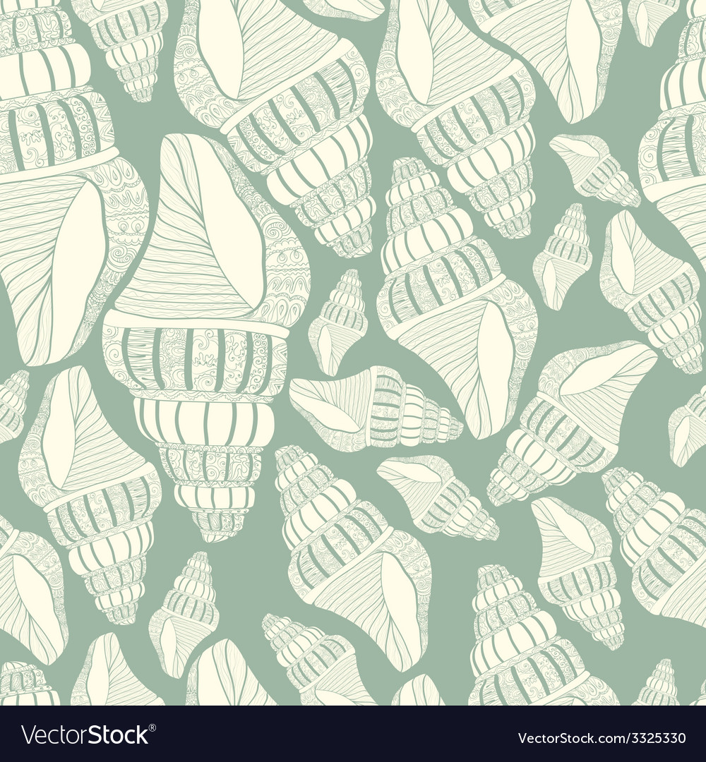 Seashell14 vector | Price: 1 Credit (USD $1)