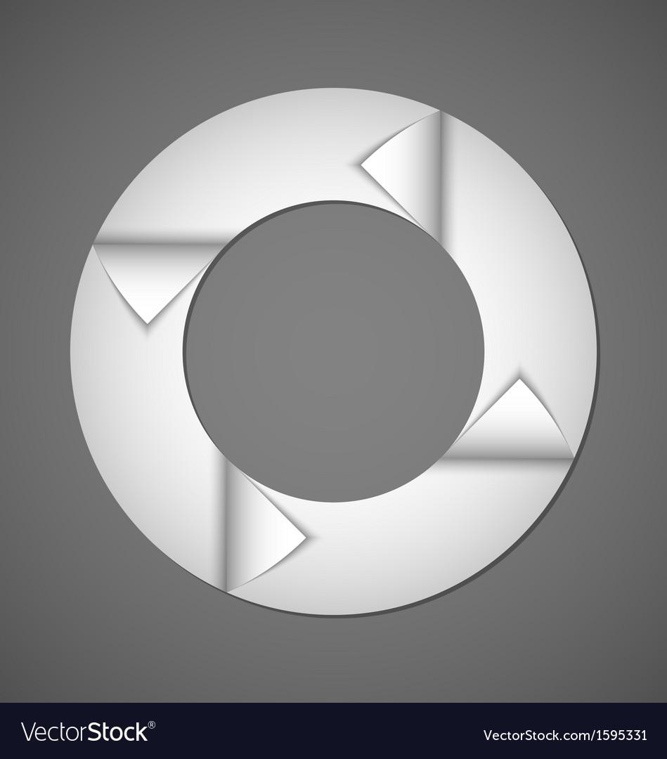 Circle web design element vector | Price: 1 Credit (USD $1)