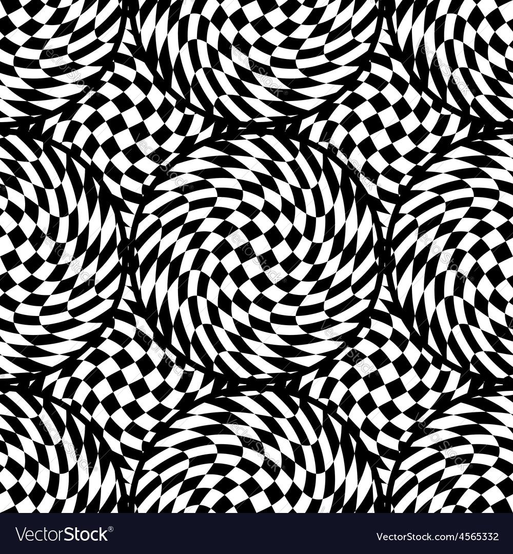 Design seamless monochrome checkered background vector | Price: 1 Credit (USD $1)