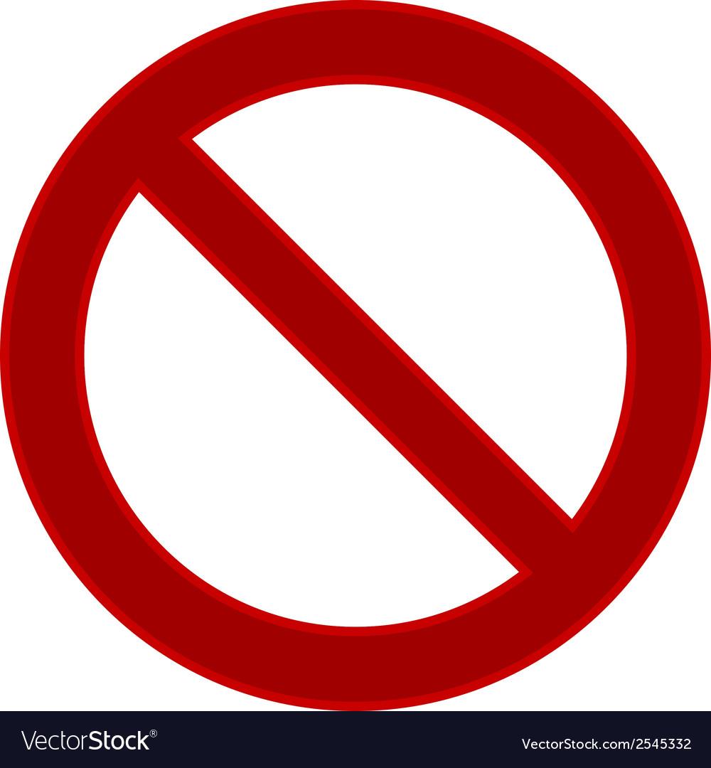 No sign vector   Price: 1 Credit (USD $1)