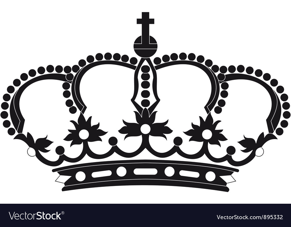 Regal crown vector | Price: 1 Credit (USD $1)
