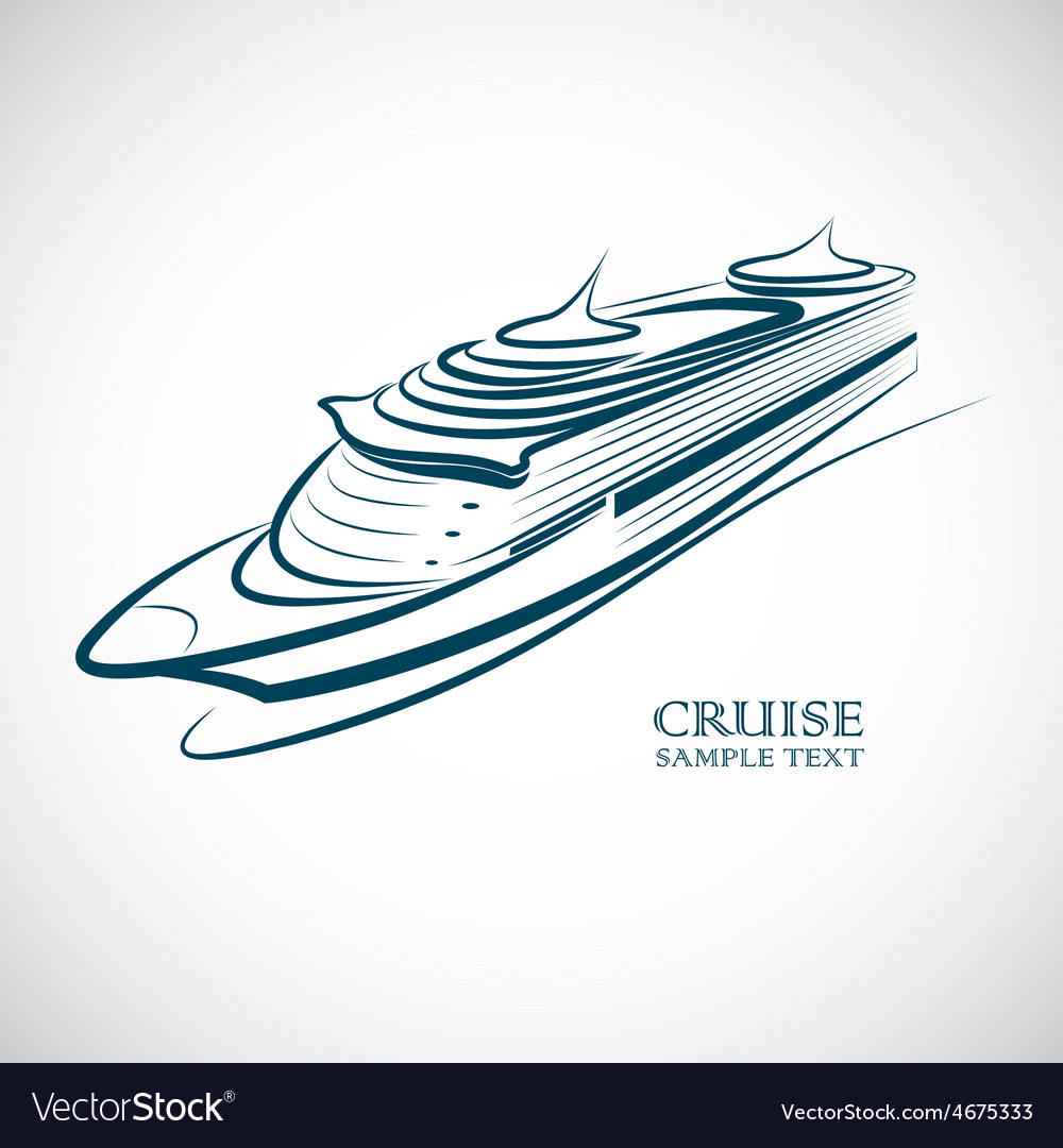 Cruise 2 vector | Price: 1 Credit (USD $1)