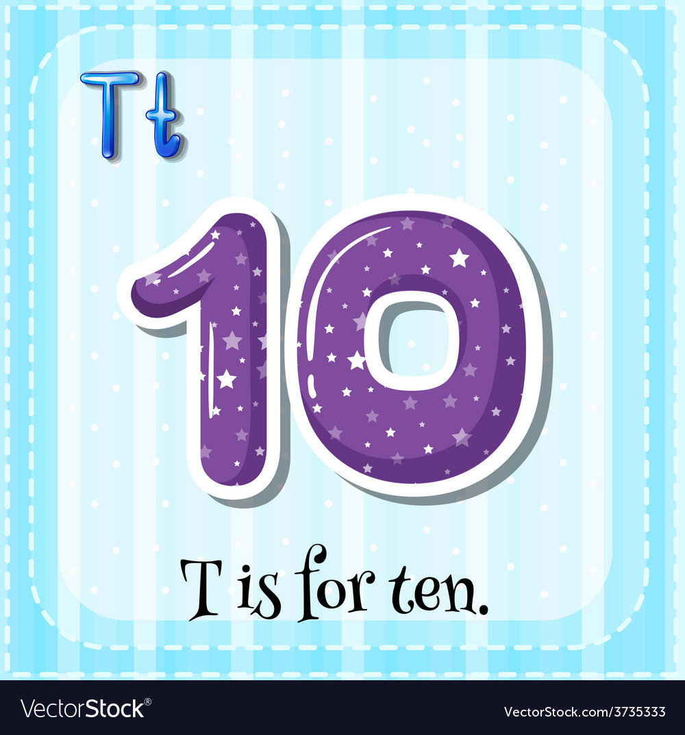 Letter t vector | Price: 1 Credit (USD $1)