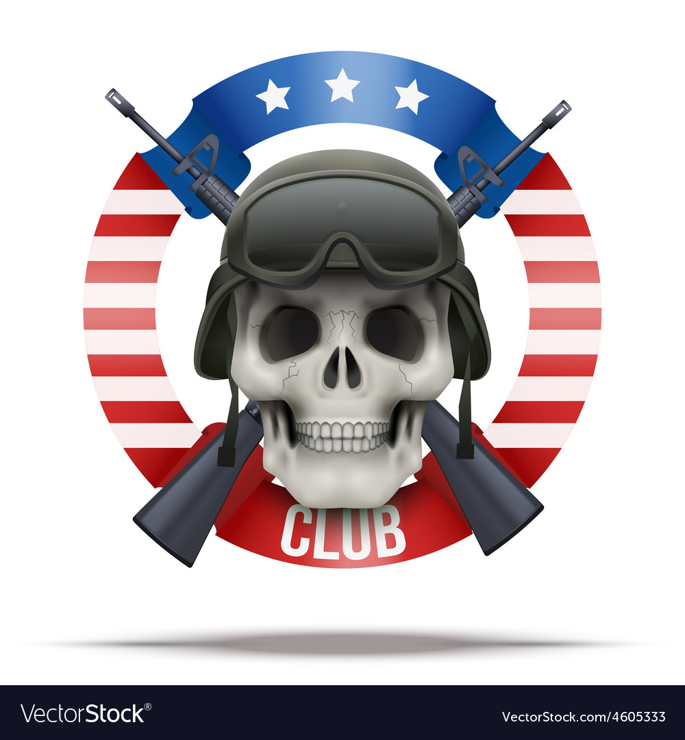 Military club or company badges and labels logo vector | Price: 3 Credit (USD $3)