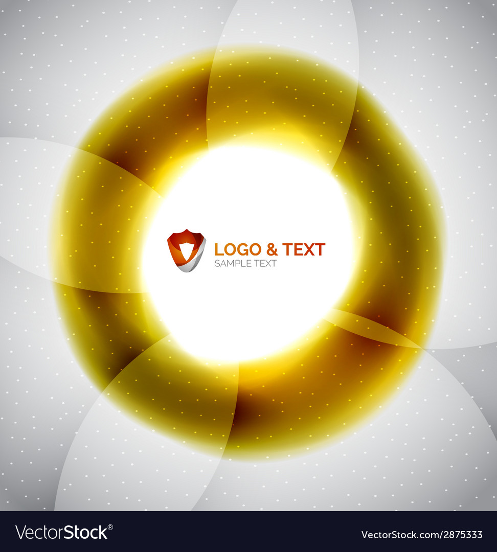 Yellow blur wave abstraction vector   Price: 1 Credit (USD $1)