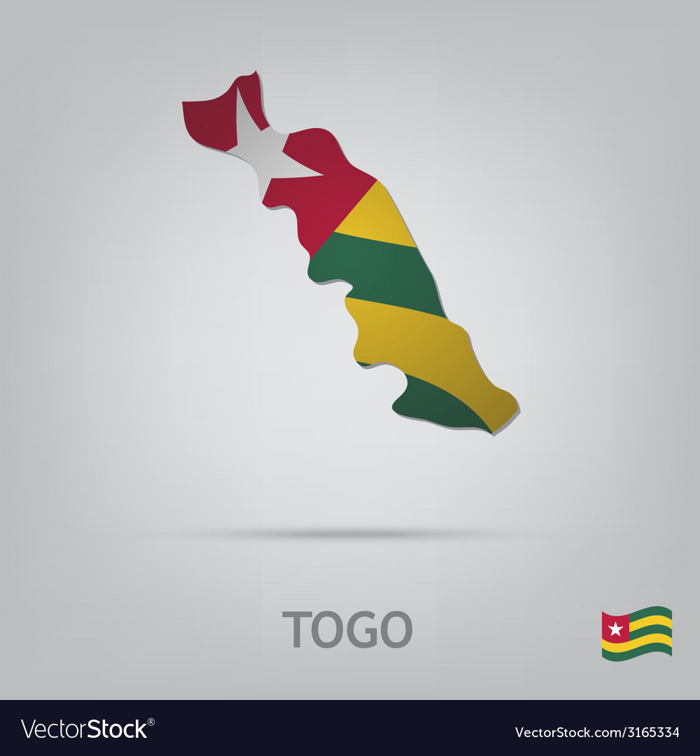 Country togo vector | Price: 1 Credit (USD $1)