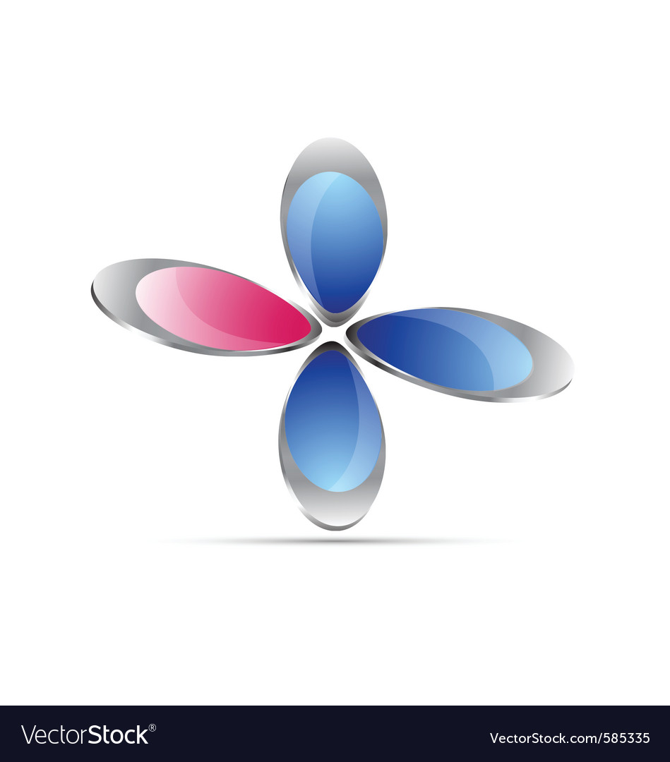 Floral icon vector   Price: 1 Credit (USD $1)